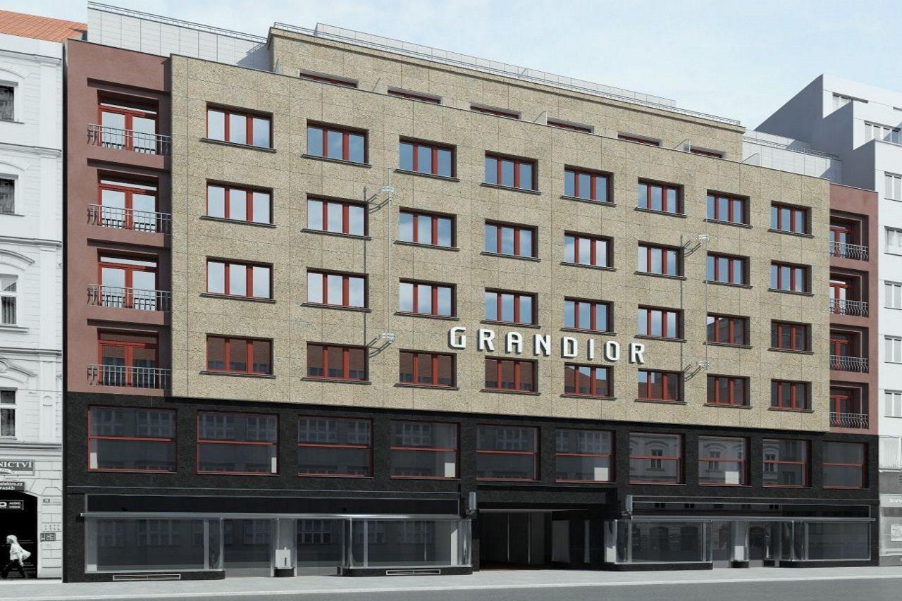Grandior hotel prague for Prague accommodation